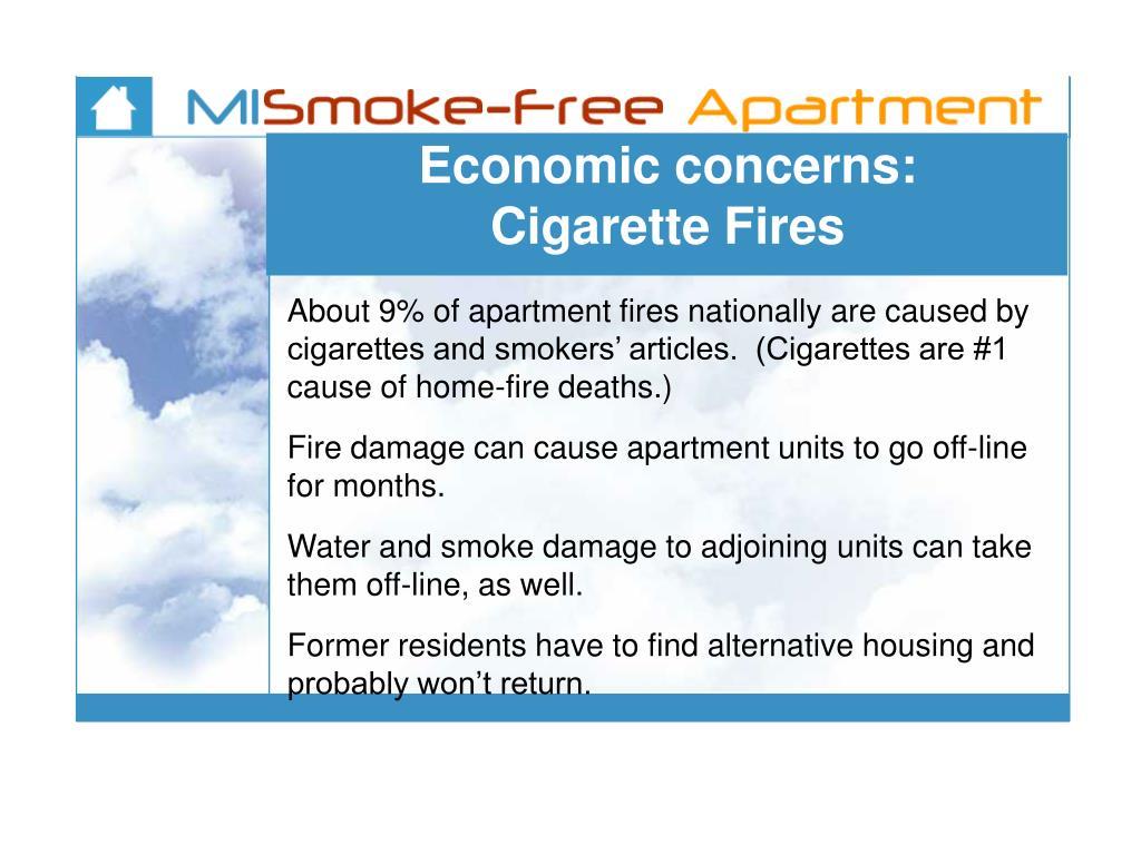 Economic concerns: