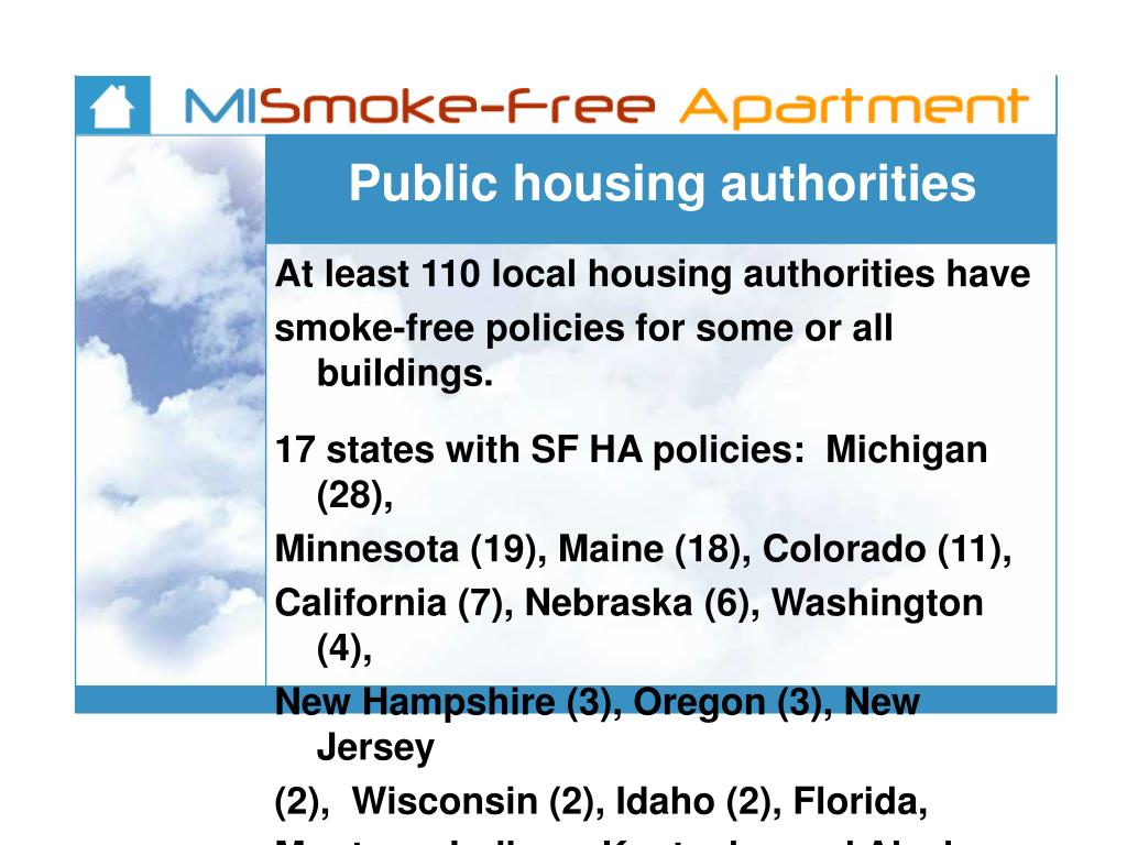 Public housing authorities