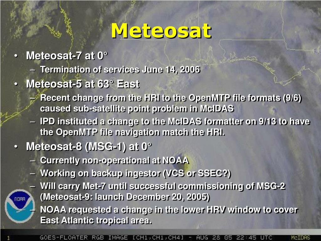 Meteosat-7 at 0°
