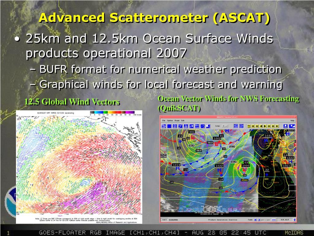 Advanced Scatterometer (ASCAT)