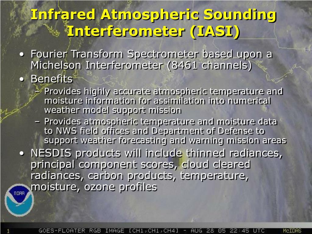 Infrared Atmospheric Sounding Interferometer (IASI)