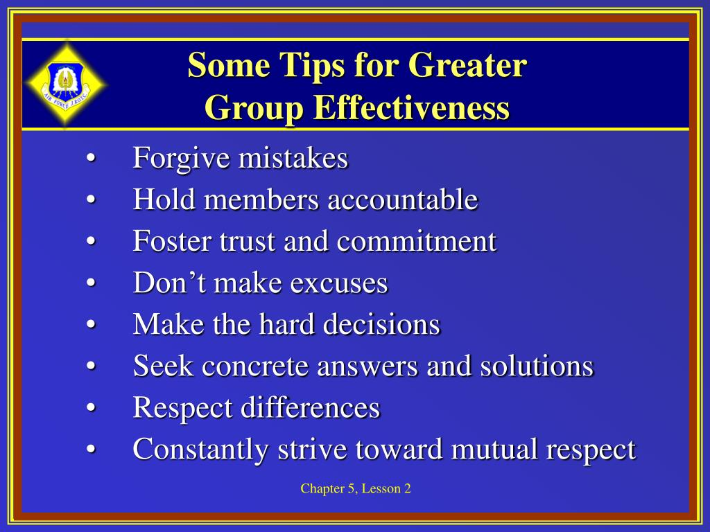 Some Tips for Greater