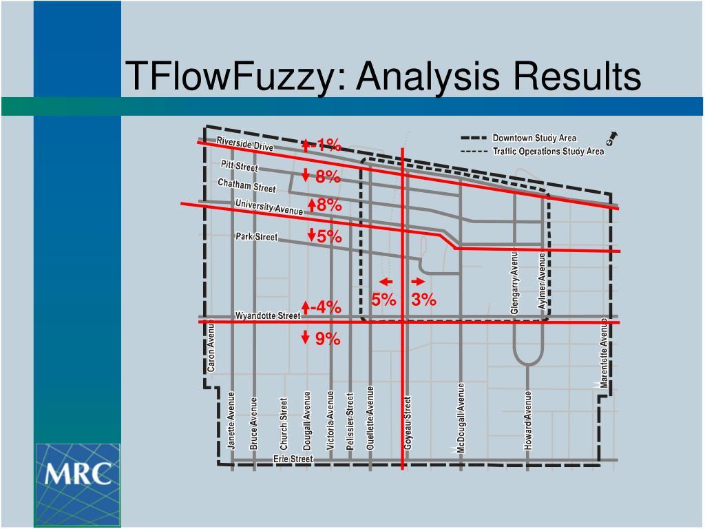 TFlowFuzzy: Analysis Results