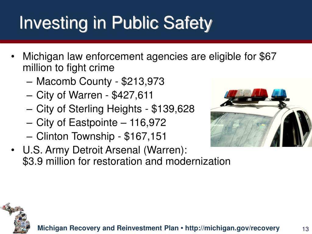 Investing in Public Safety