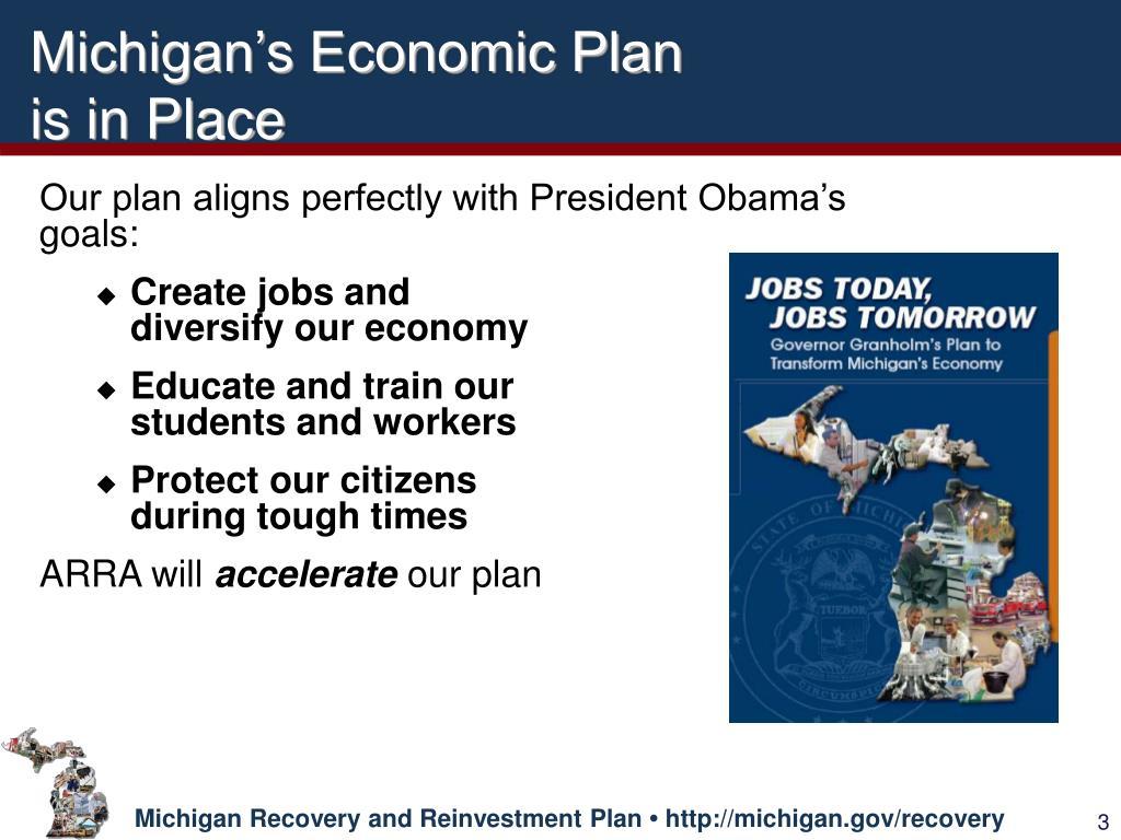 Michigan's Economic Plan