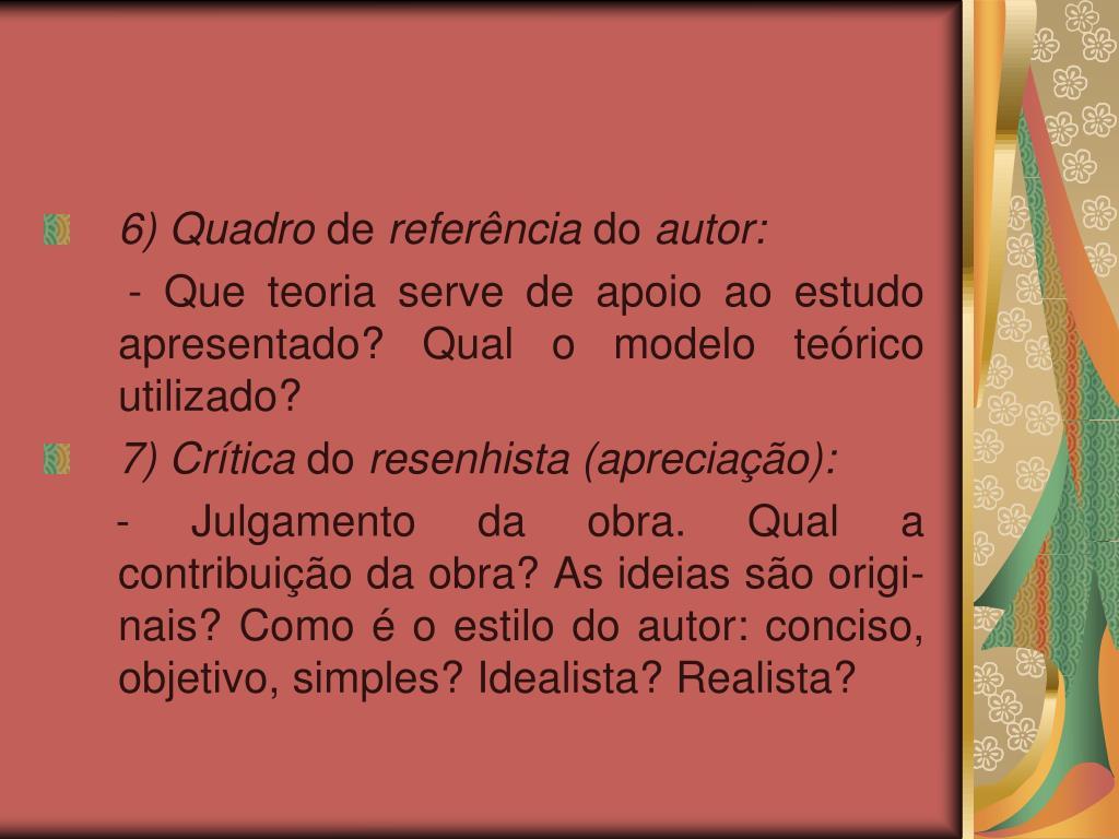 6) Quadro