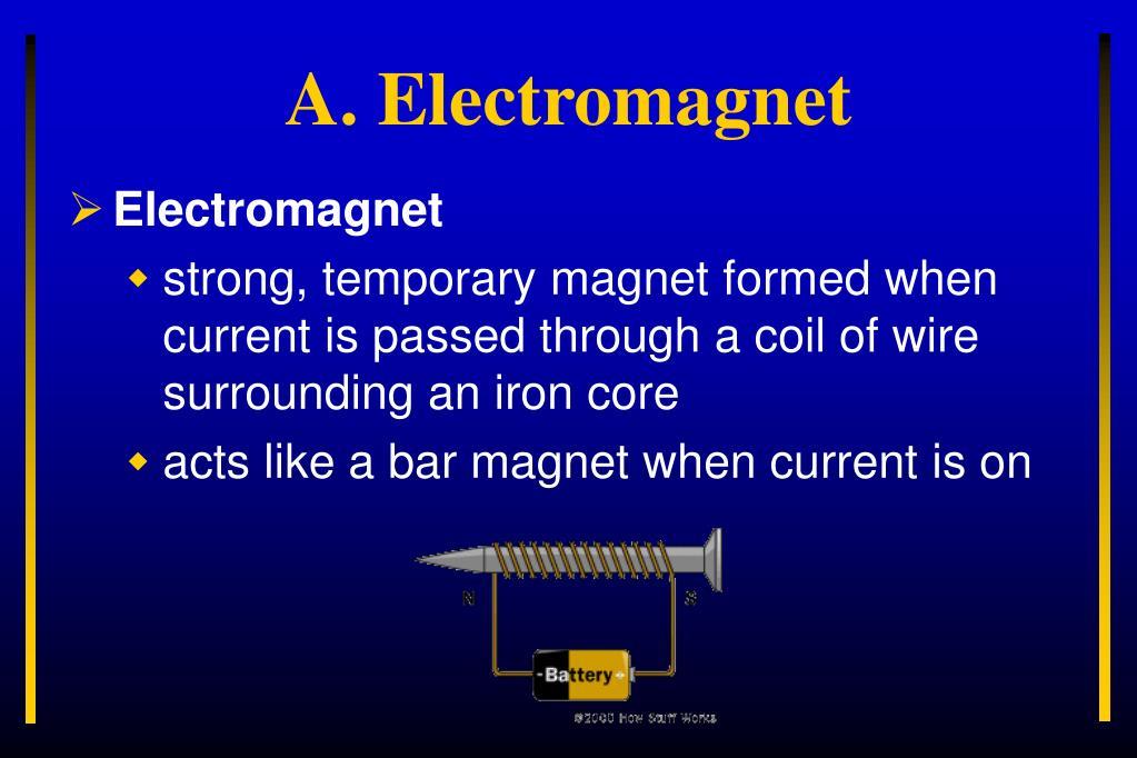 A. Electromagnet