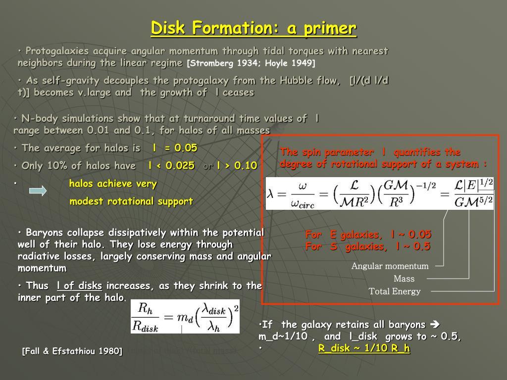 Disk Formation: a primer