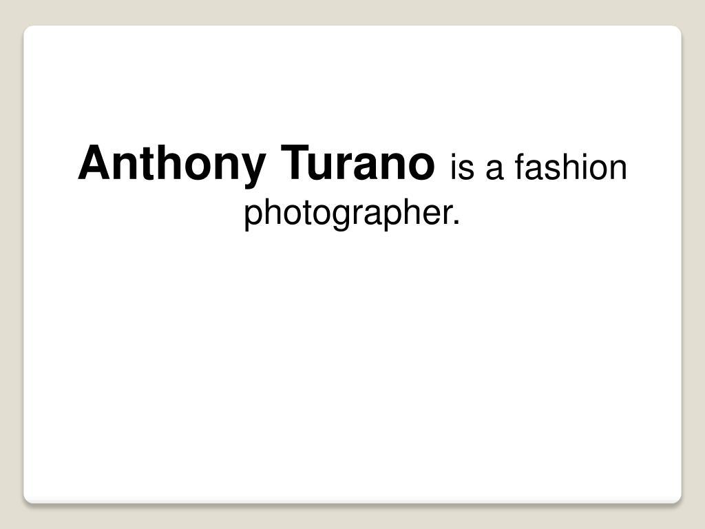 Anthony Turano