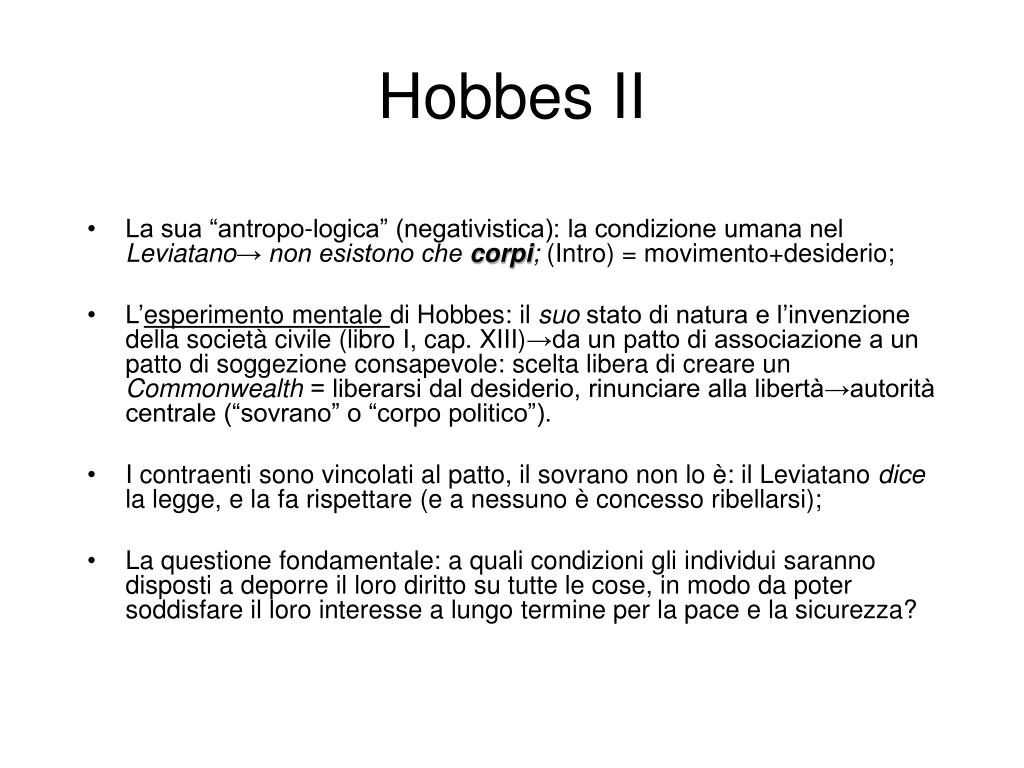 Hobbes II