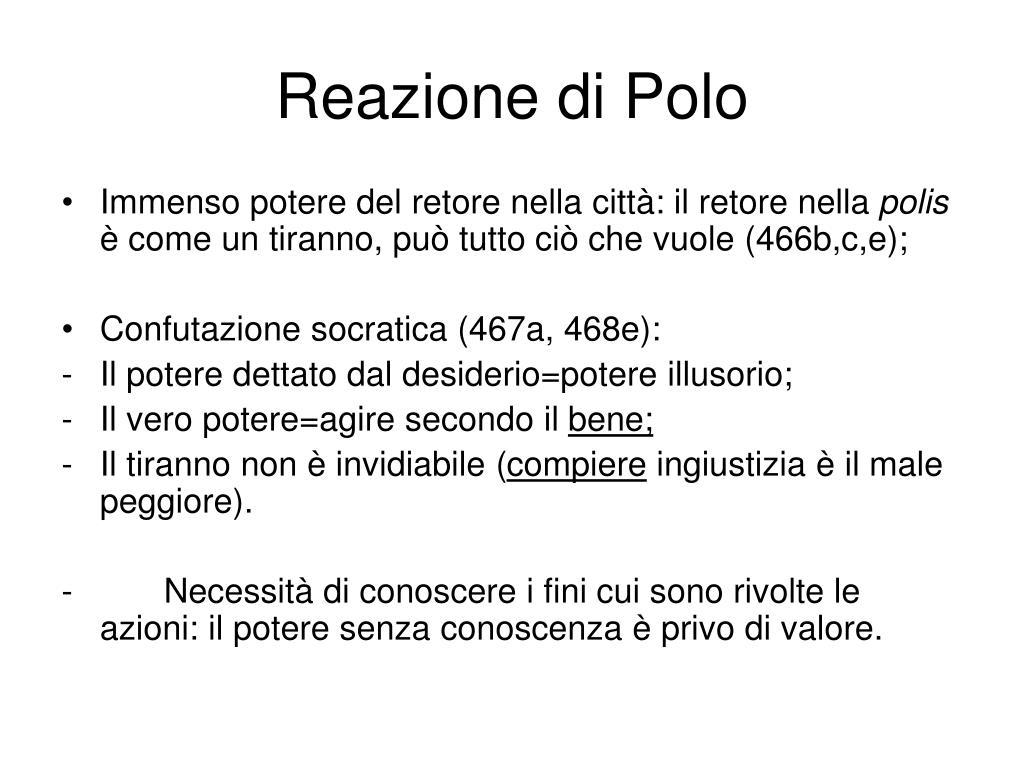 Reazione di Polo