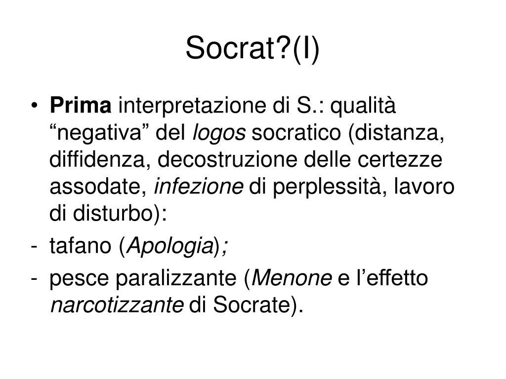 Socrat?(I)