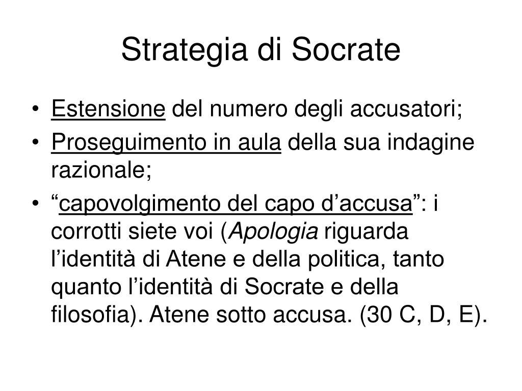 Strategia di Socrate
