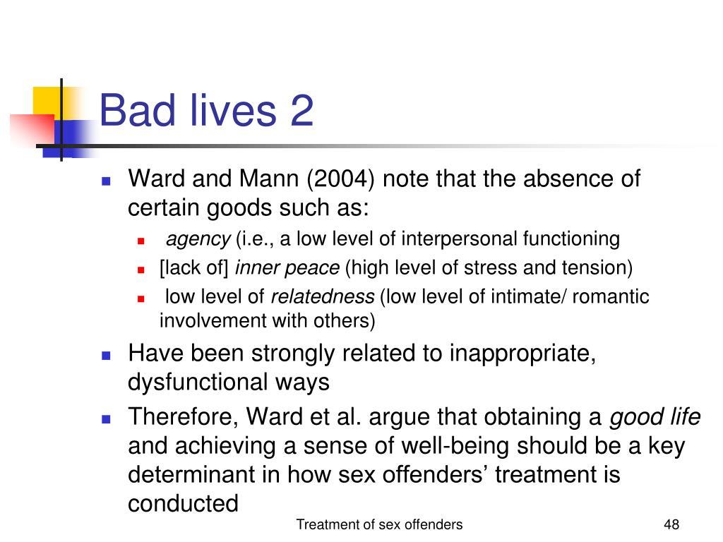 Bad lives 2