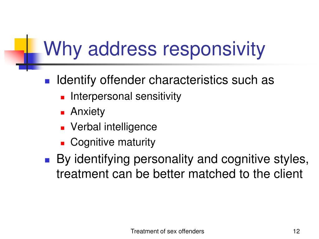 Why address responsivity
