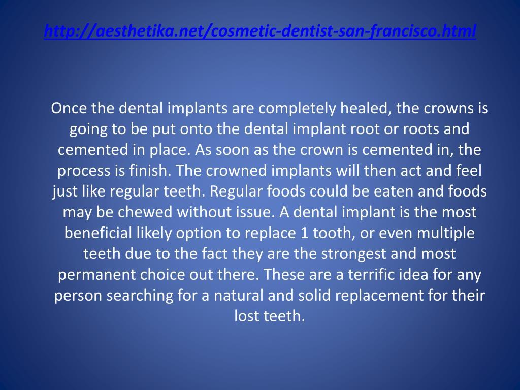 http://aesthetika.net/cosmetic-dentist-san-francisco.html