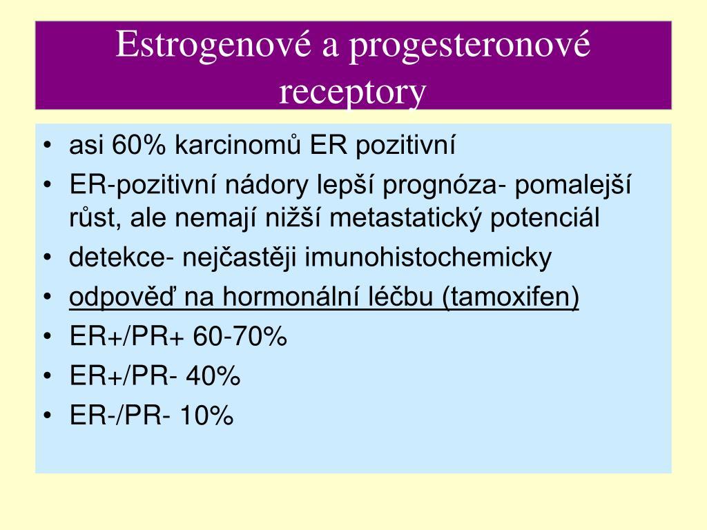 Estrogenové a progesteronové receptory