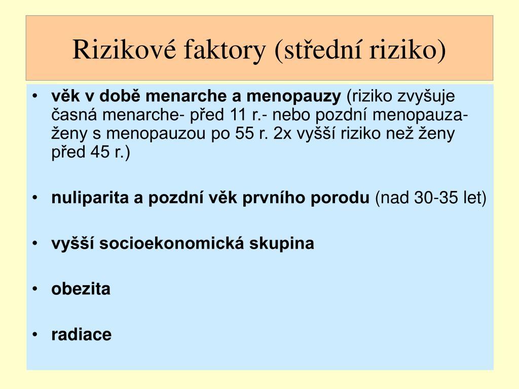 Rizikové faktory (st