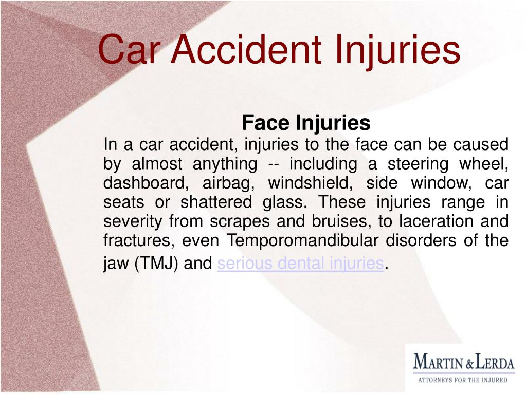 Face Injuries