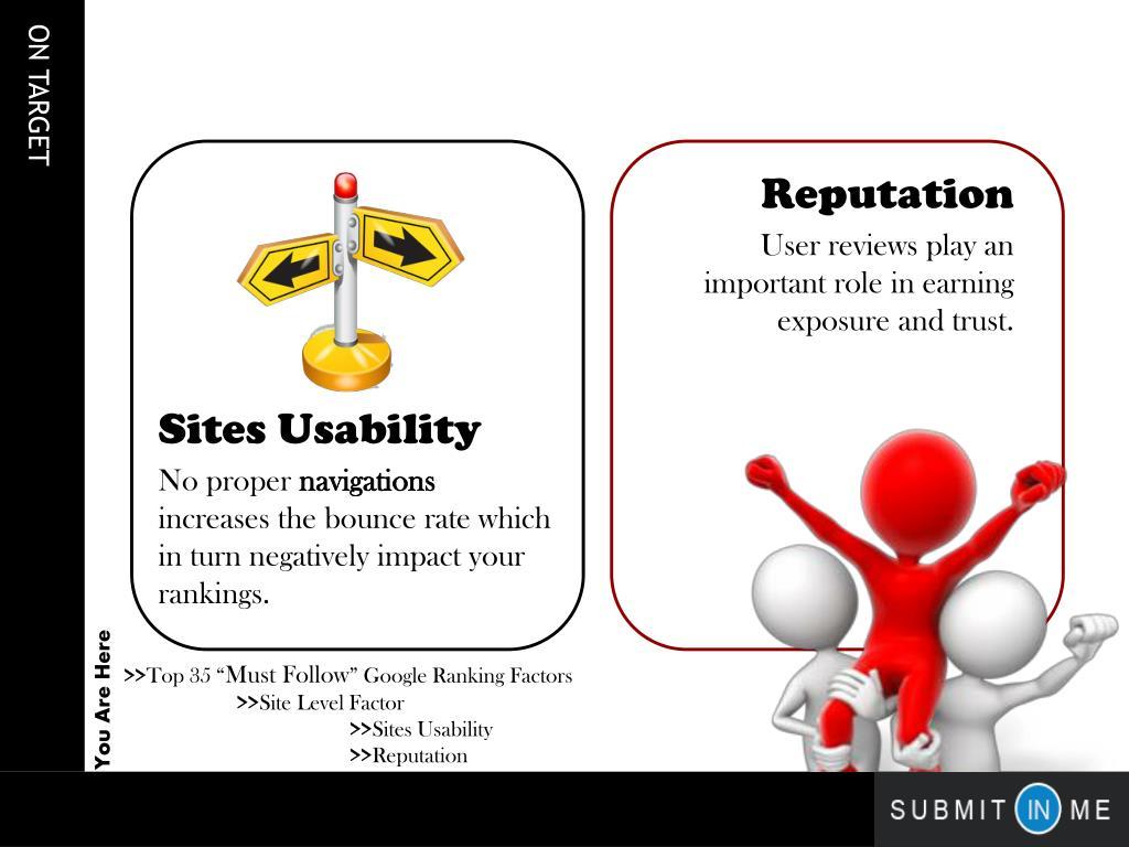 Sites Usability