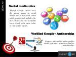 verified google authorship