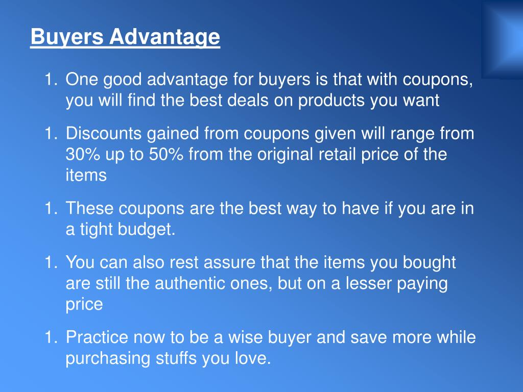 Buyers Advantage