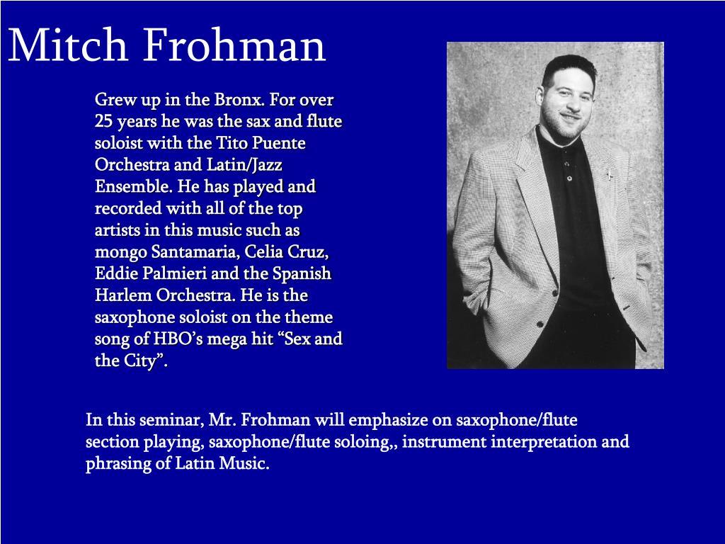 Mitch Frohman