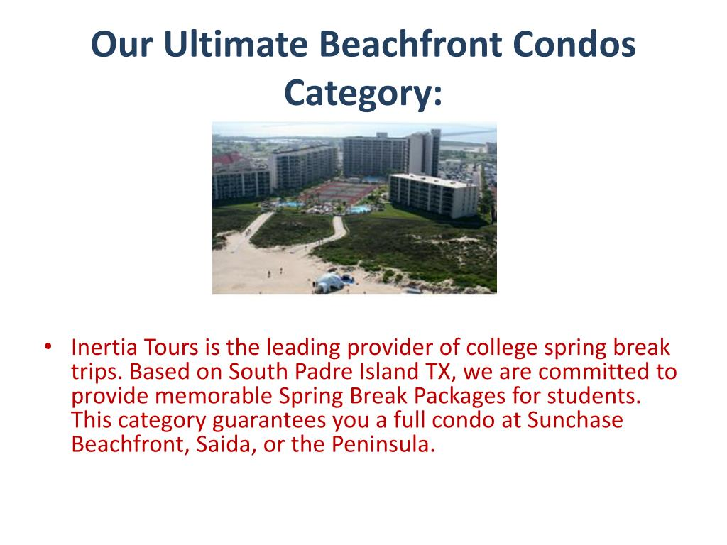 Our Ultimate Beachfront Condos