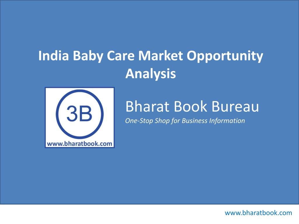 India Baby Care Market Opportunity Analysis