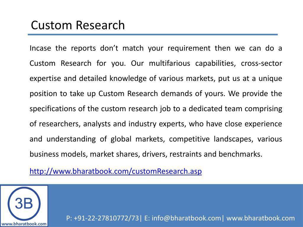 Custom Research