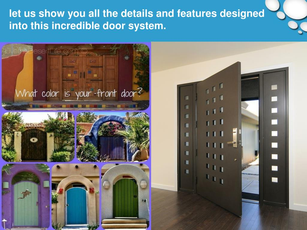 let us show you all the details and features designed into this incredible door system.