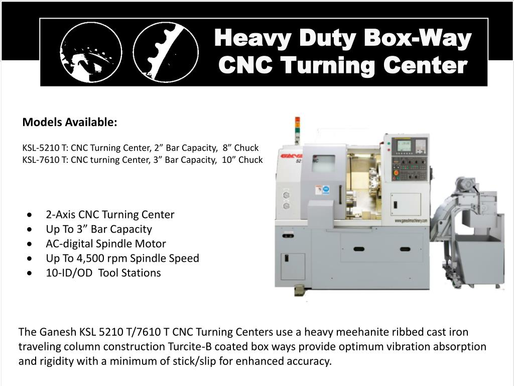 Heavy Duty Box-Way CNC Turning Center