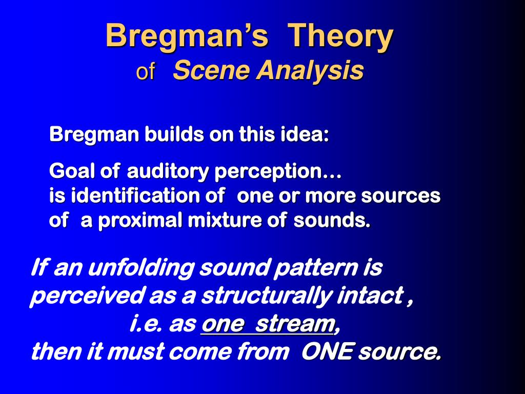 Bregman's  Theory
