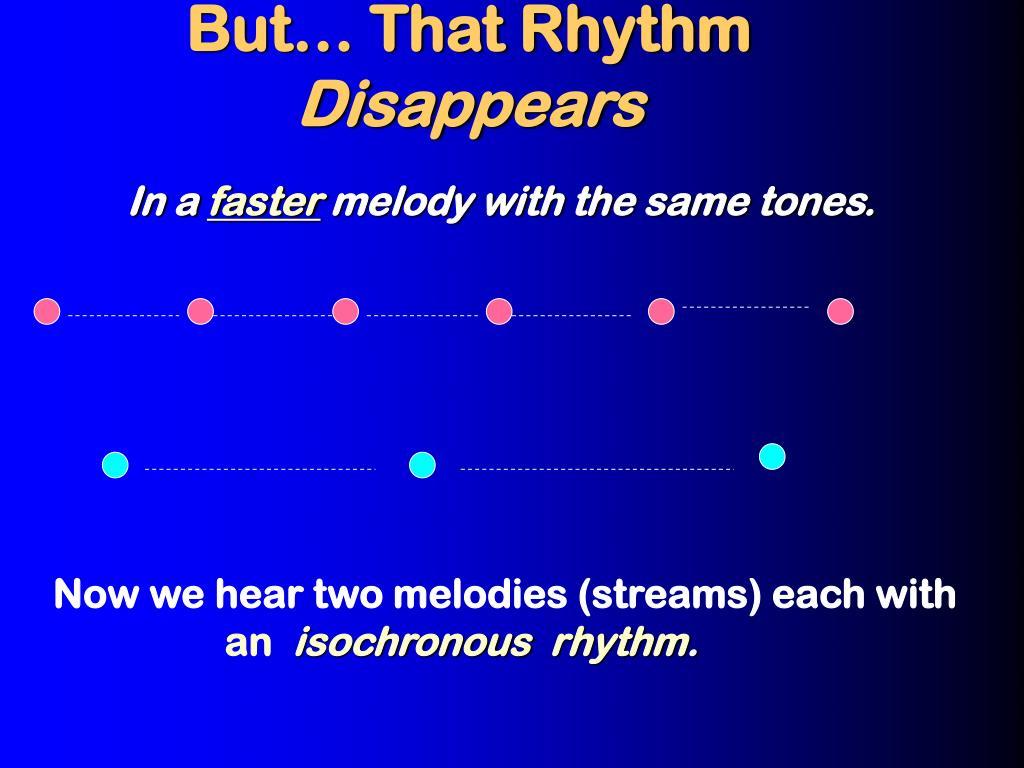 But… That Rhythm
