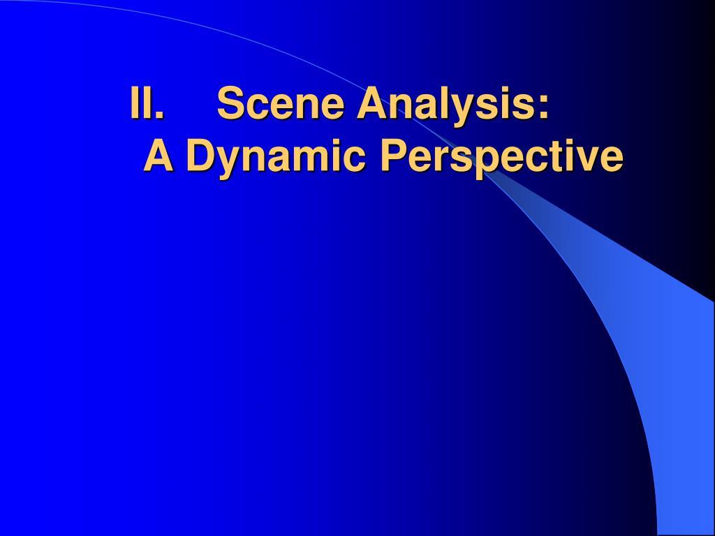 Scene Analysis: