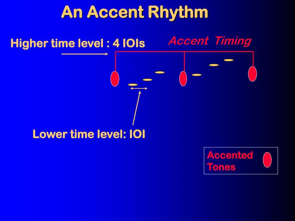 An Accent Rhythm
