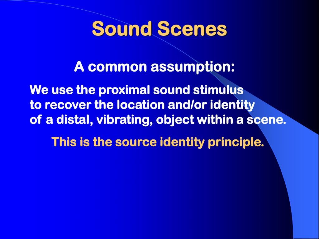 Sound Scenes