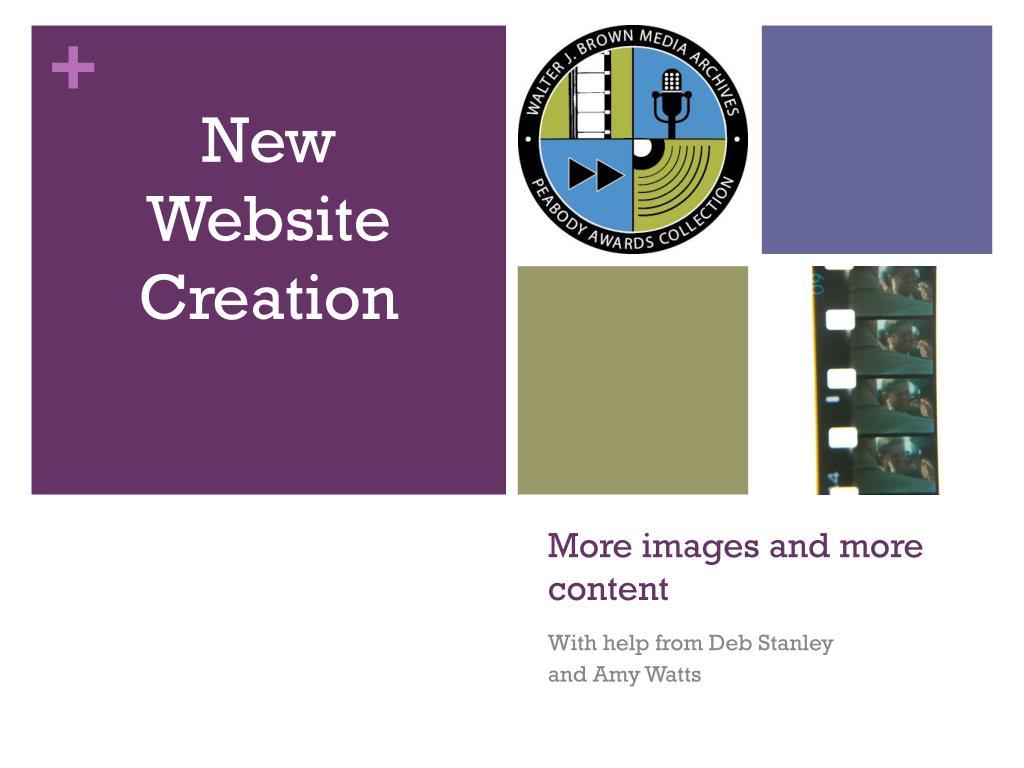 New Website Creation