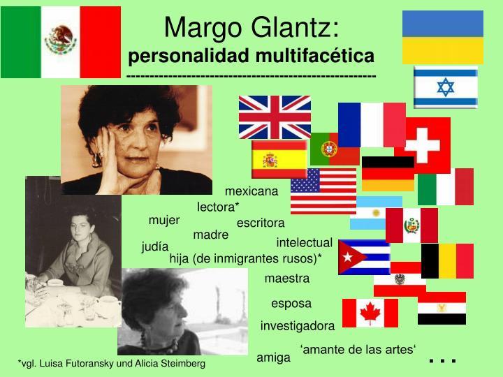 Margo Glantz: