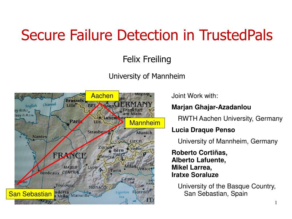 Secure Failure Detection in TrustedPals