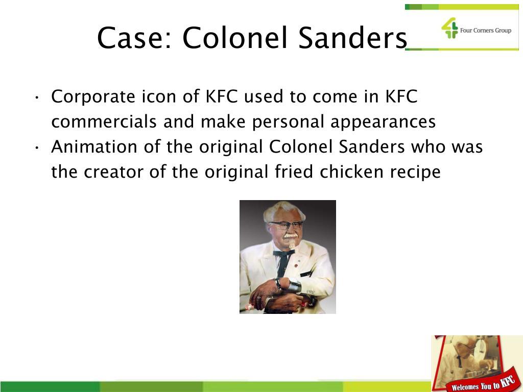 Case: Colonel Sanders
