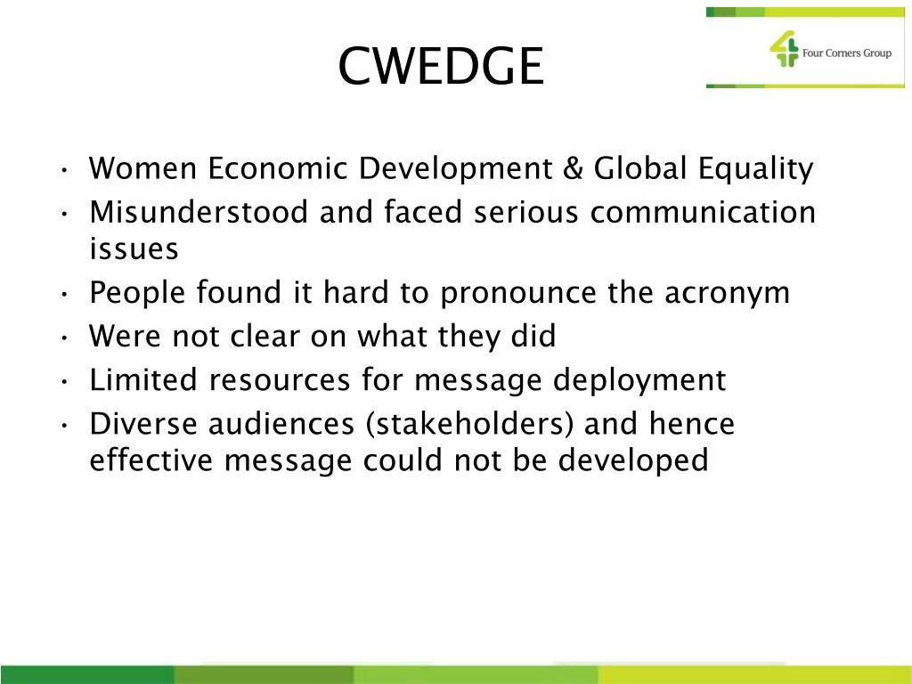CWEDGE