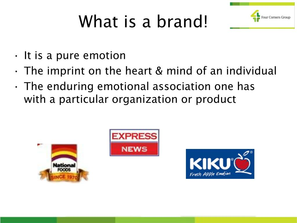 What is a brand!