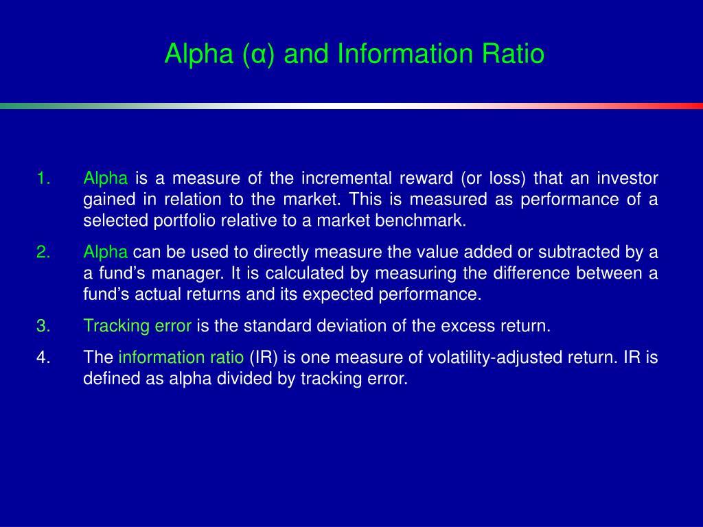 Alpha (