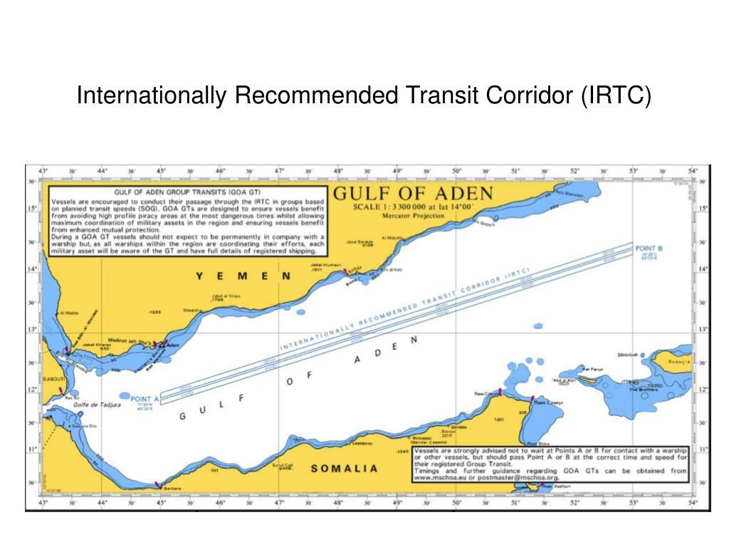 Internationally Recommended Transit Corridor (IRTC)