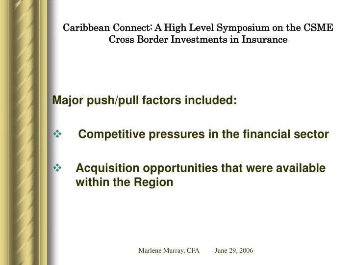 Caribbean connect a high level symposium on the csme cross border investments in insurance3