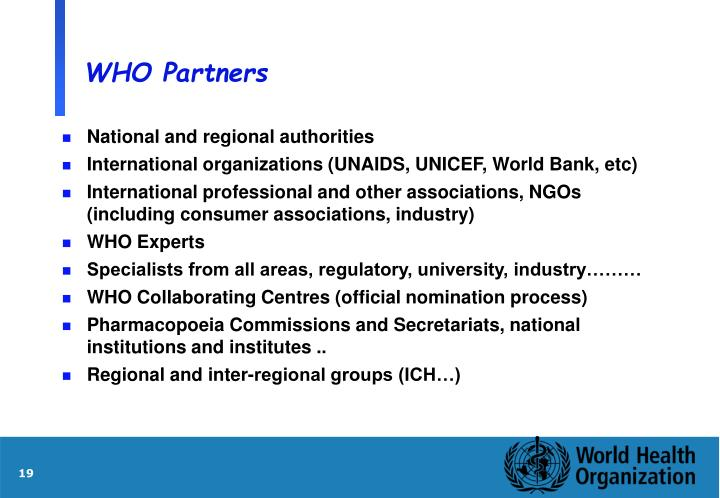 WHO Partners