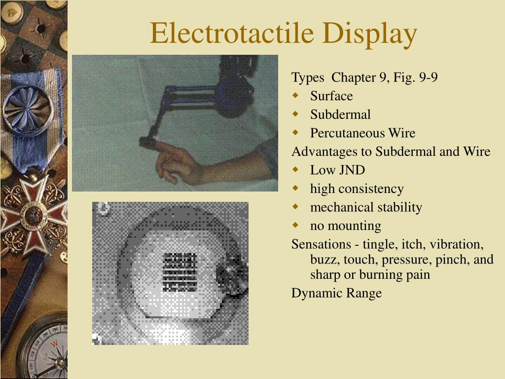 Electrotactile Display