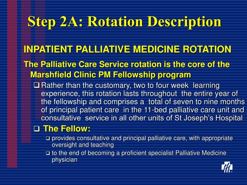 Step 2A: Rotation Description
