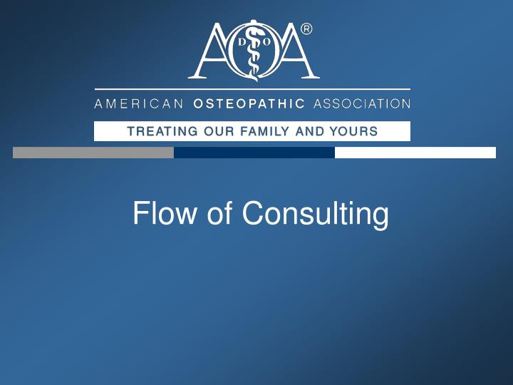 Flow of Consulting